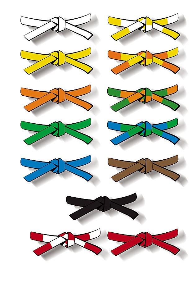 Que signifient les couleurs des ceintures au Judo